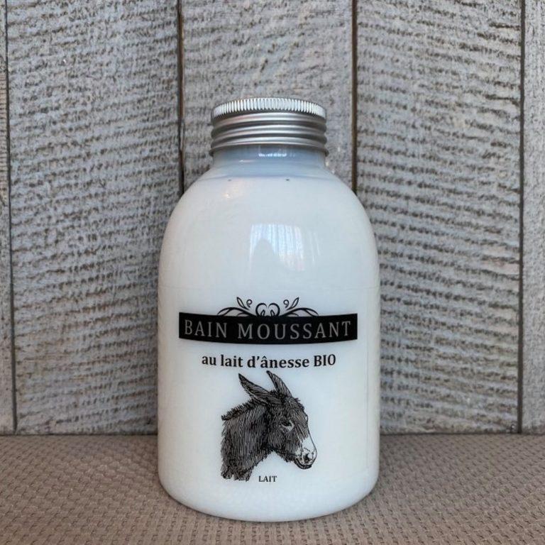 Bain moussant au lait d'ânesse biologique 500ml