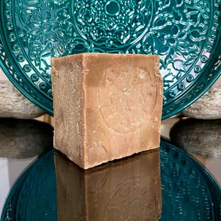 savon d'Alep brut 25% huile de baies de Laurier