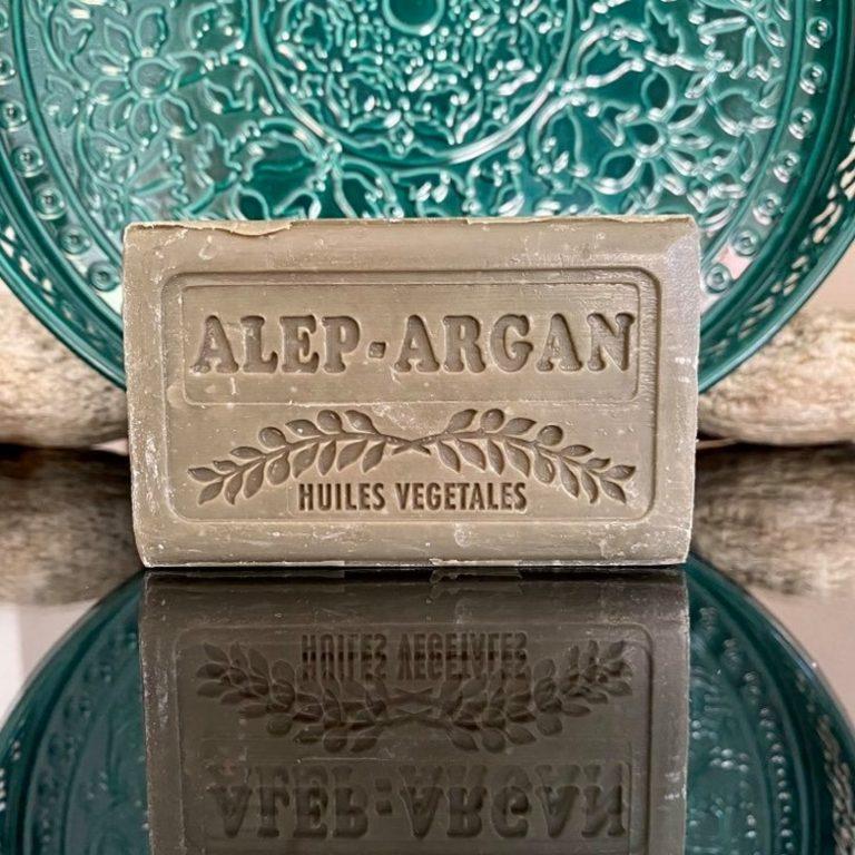 Savon d'Alep à l'huile d'argan 150g
